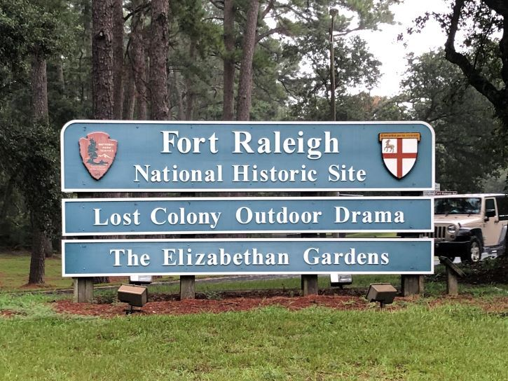 Fort Raleigh National Historic Site in North Carolina.