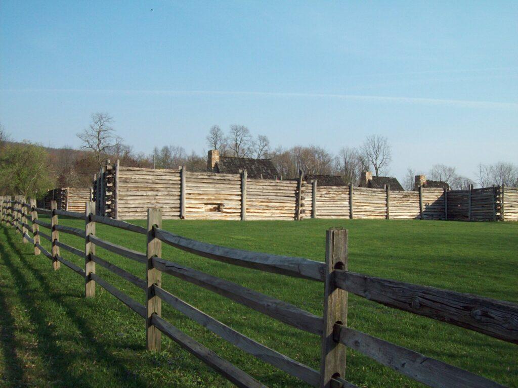 Fort Roberdeau near Altoona, Pennsylvania.