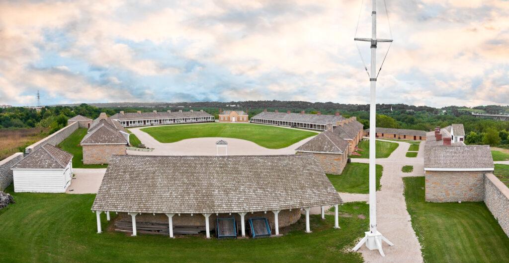 Fort Snelling in Minneapolis.