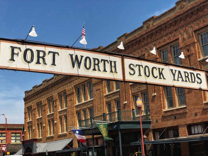 Fort Worth Stock Yards.