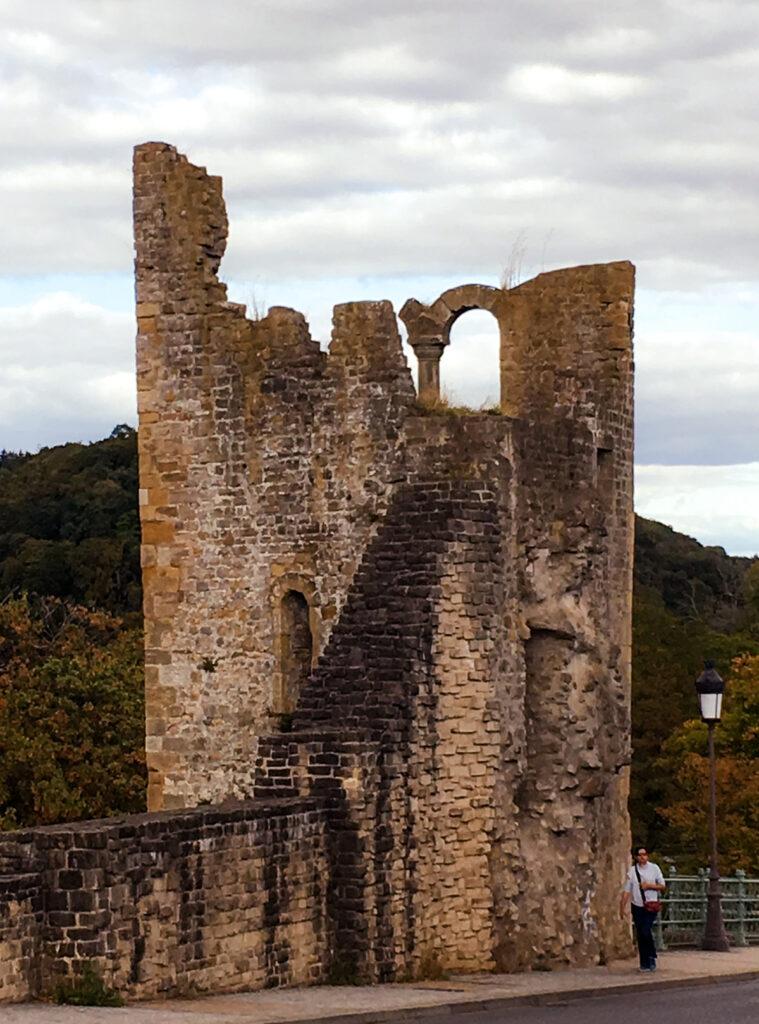 Fortress ruins at Casemates Du Bock.