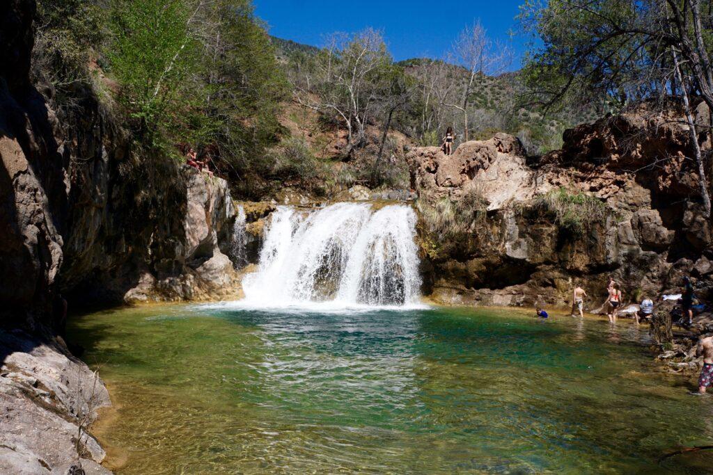 Fossil Creek in Arizona.