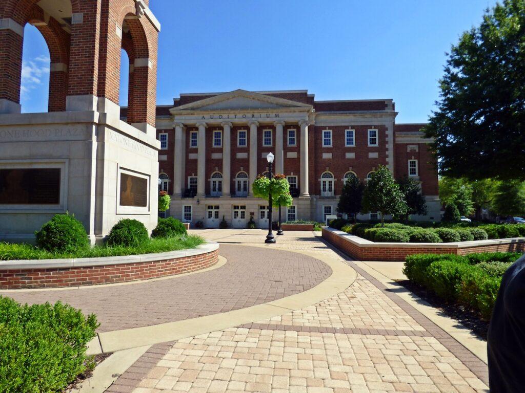 Foster Auditorium at the University of Alabama.