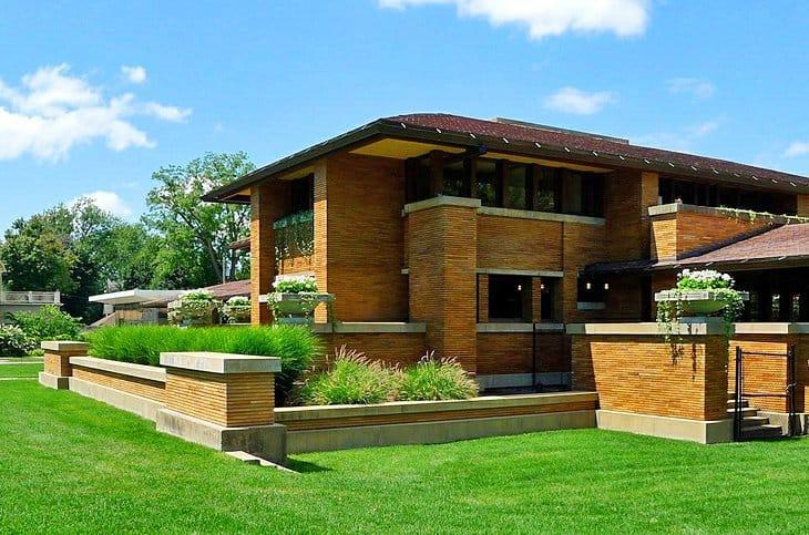 Frank Lloyd Wright's Darwin Martin House.