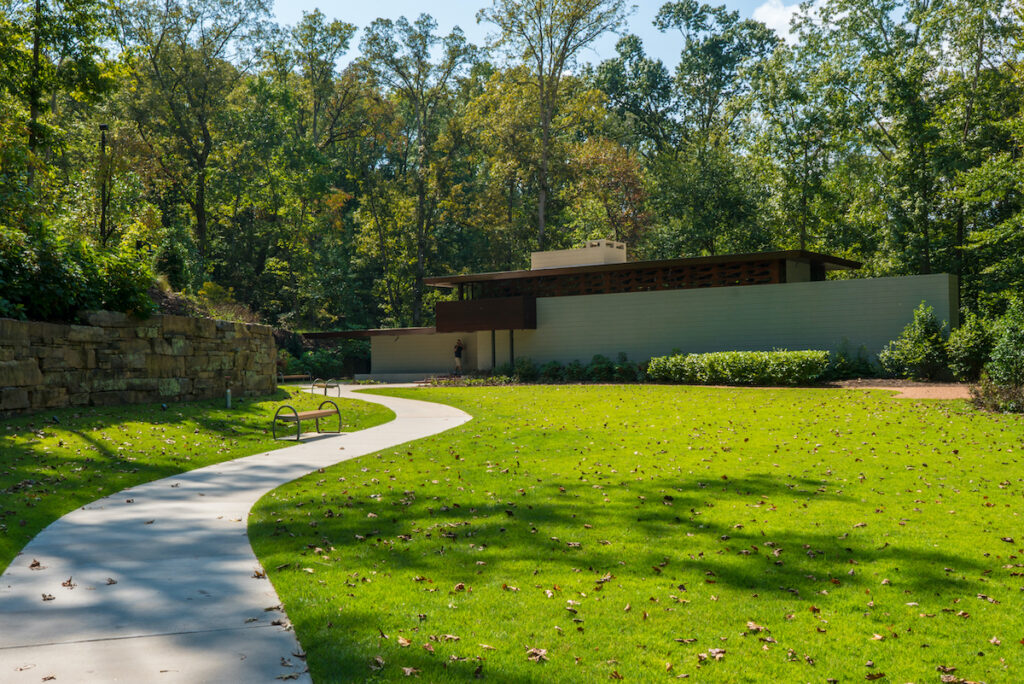 Frank Lloyd Wright's Bachman-Wilson House, Bentonville.