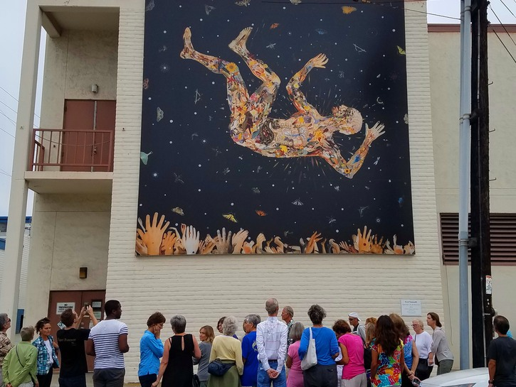 Fred Tomaselli - Expecting to Fly, La Jolla