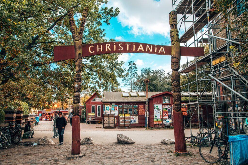 Freetown Christiania in Copenhagen.