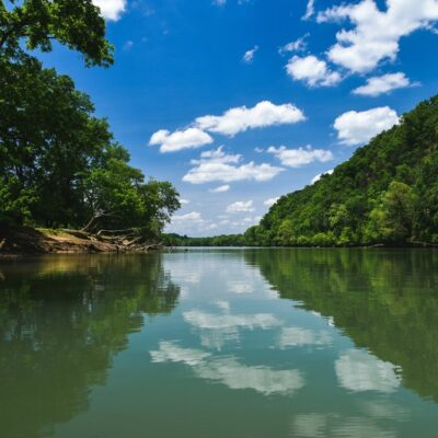 French Broad River in Tennessee