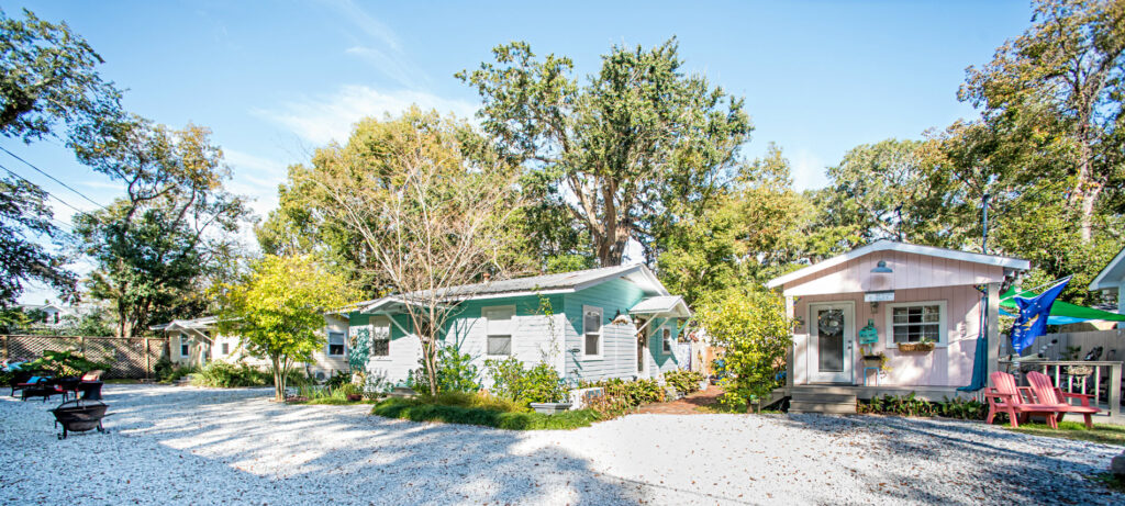 Front Beach Cottages In Ocean Springs