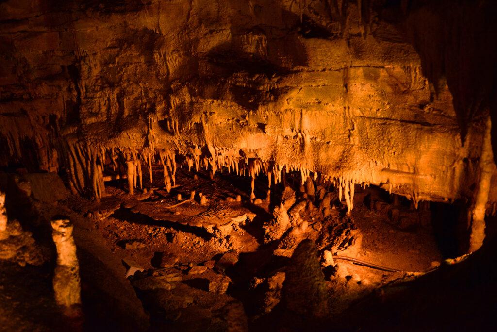 Frozen Niagara at Mammoth Cave National Park.