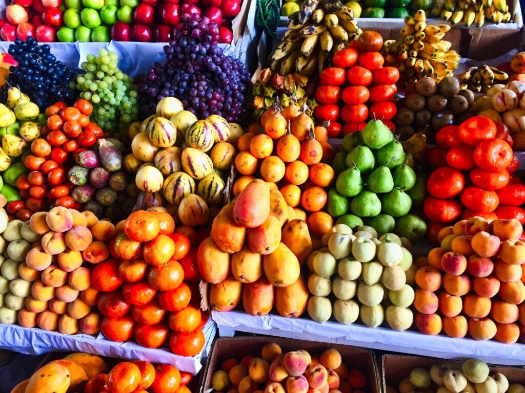 fruit at peruvian market