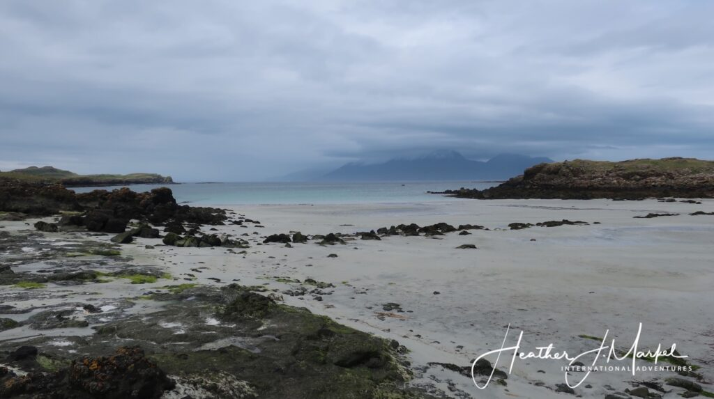 Gallanach Bay on the Isle of Muck.