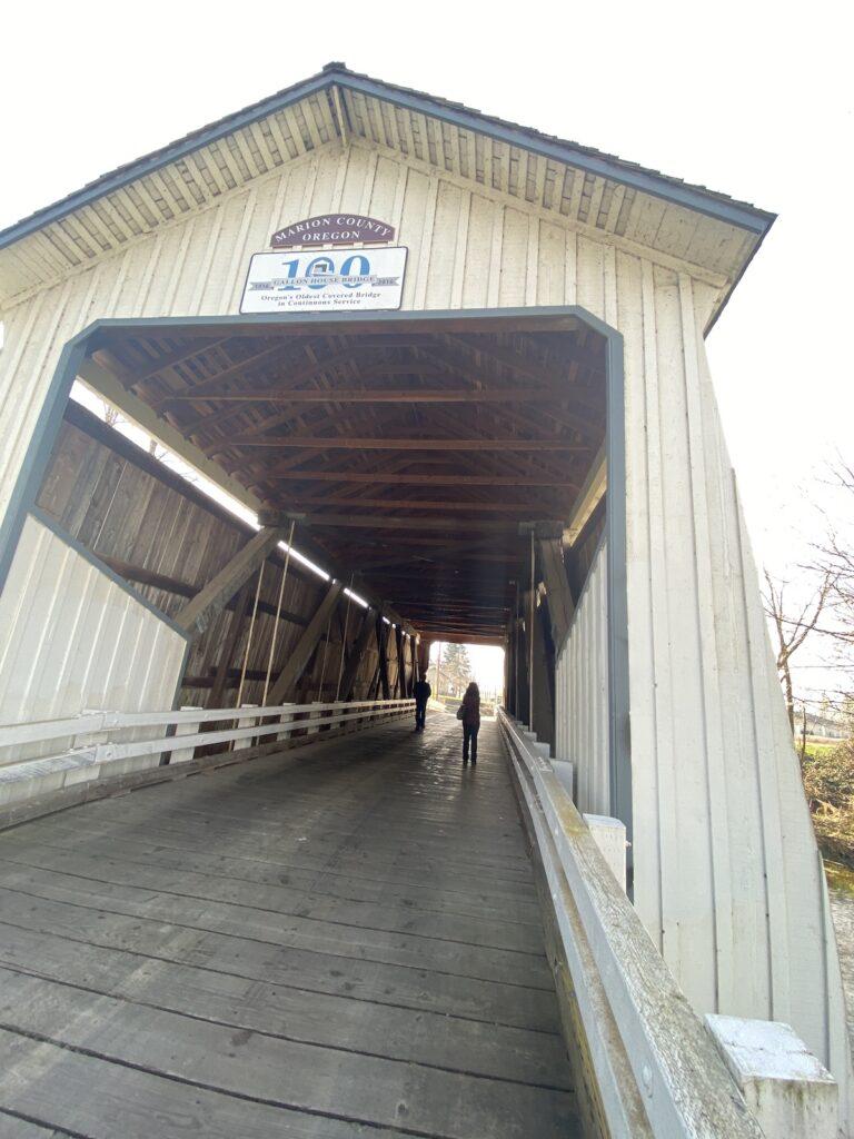 Gallon Covered Bridge.