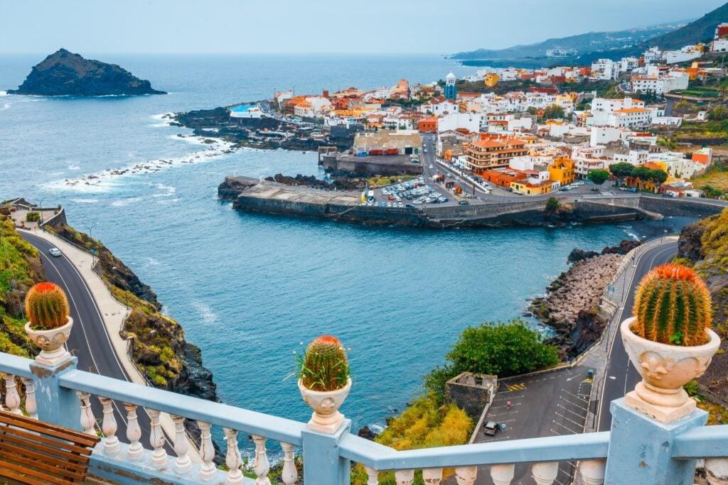 Garachico in Tenerife, Spain.