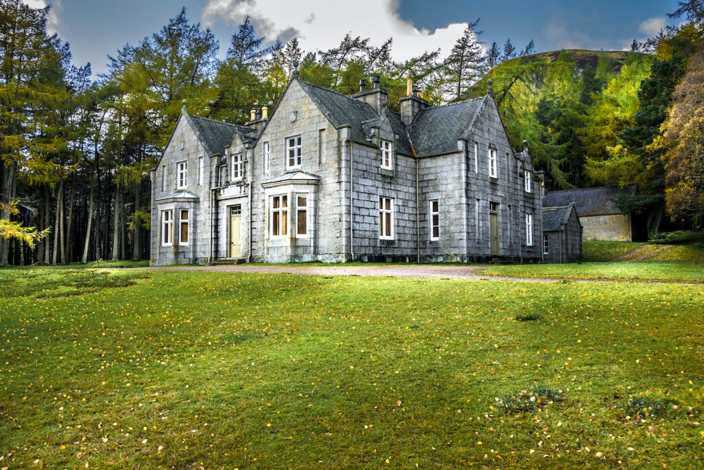 Garbh Allt Shiel, a cottage at the Balmoral estate.