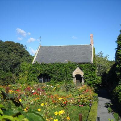 Gardens in Adams National Historic Park.