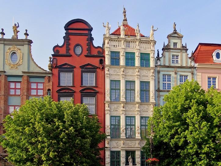 Gdansk's amazing architecture.