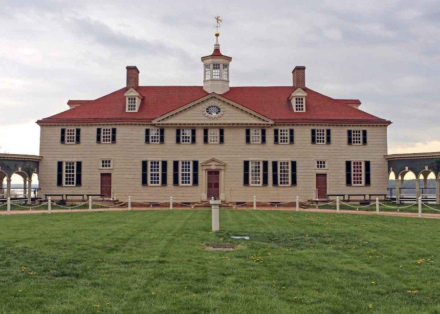 George Washington's Mount Vernon estate.