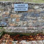 George Washington's bath tub, Berkeley Springs, West Virginia.