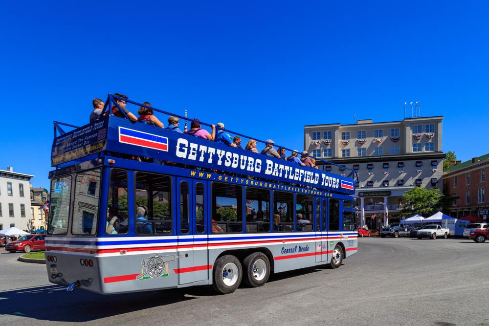 gettysburg bus tour