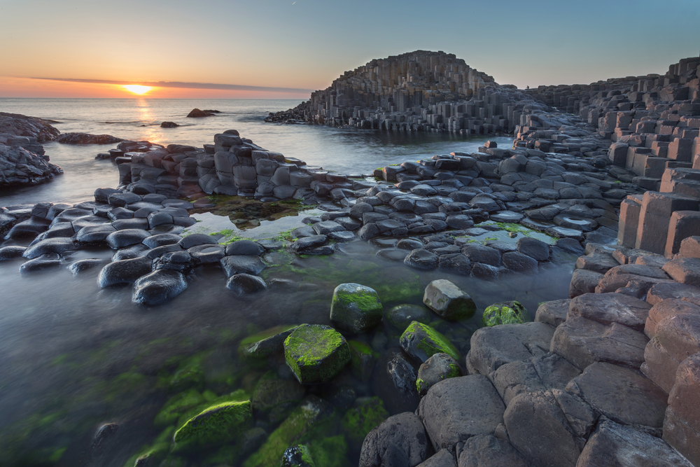 Giant's Causeway in Northern Ireland.