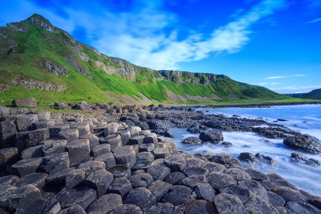 Giant's Causeway in Northern Ireland.