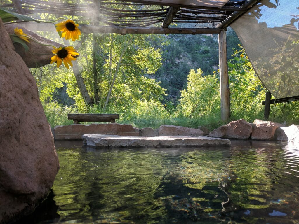 Gila Hot Springs Campground in New Mexico.