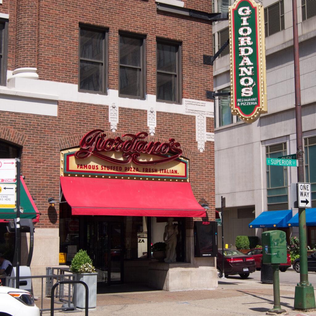 Giordanos pizzeria Chicago, Illinois