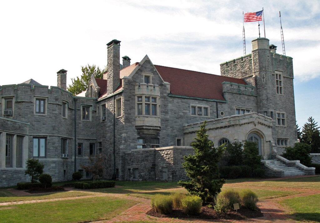 Glamorgan Castle in Alliance, Ohio.