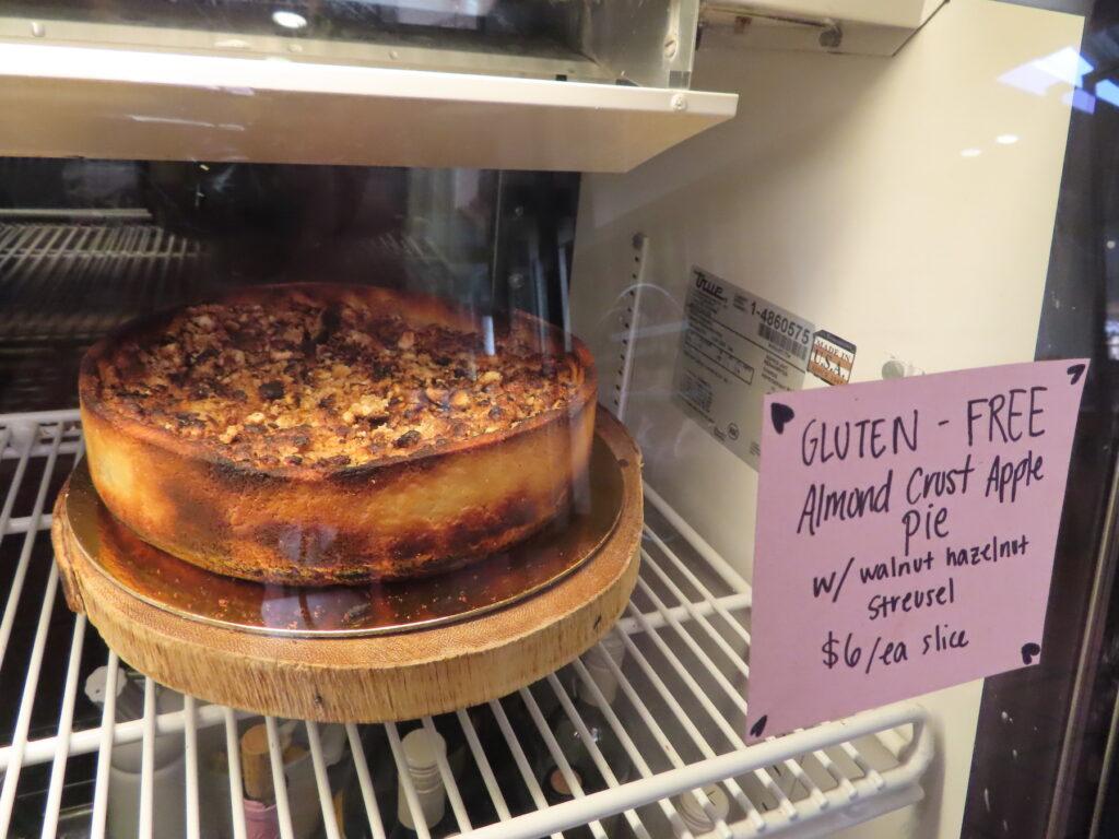 Gluten-free pie from Carmel Belle.