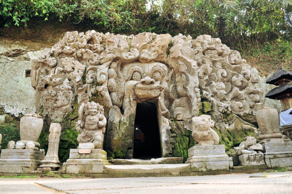 Goa Gajah in Ubud.