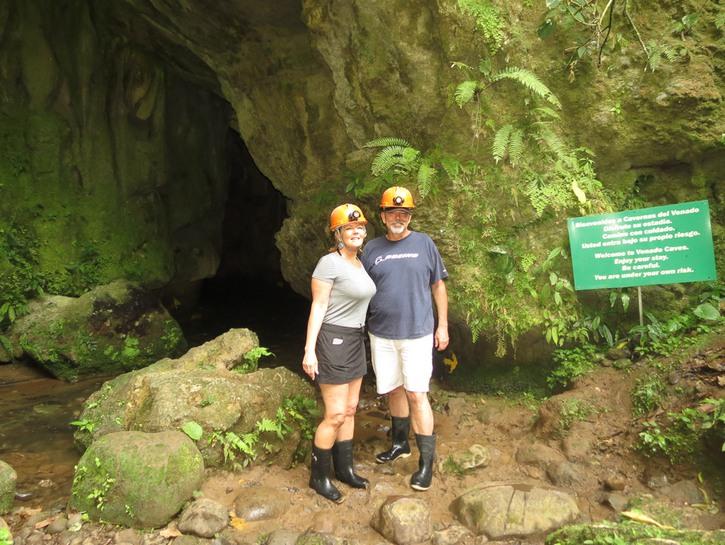 Going Underground Venado Cave Costa Rica