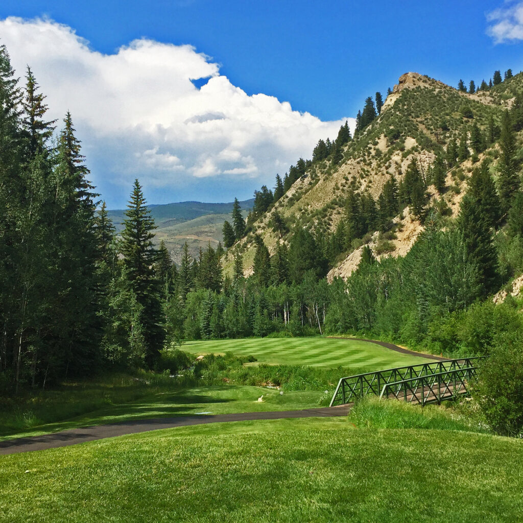 Golf course at Beaver Creek Village.
