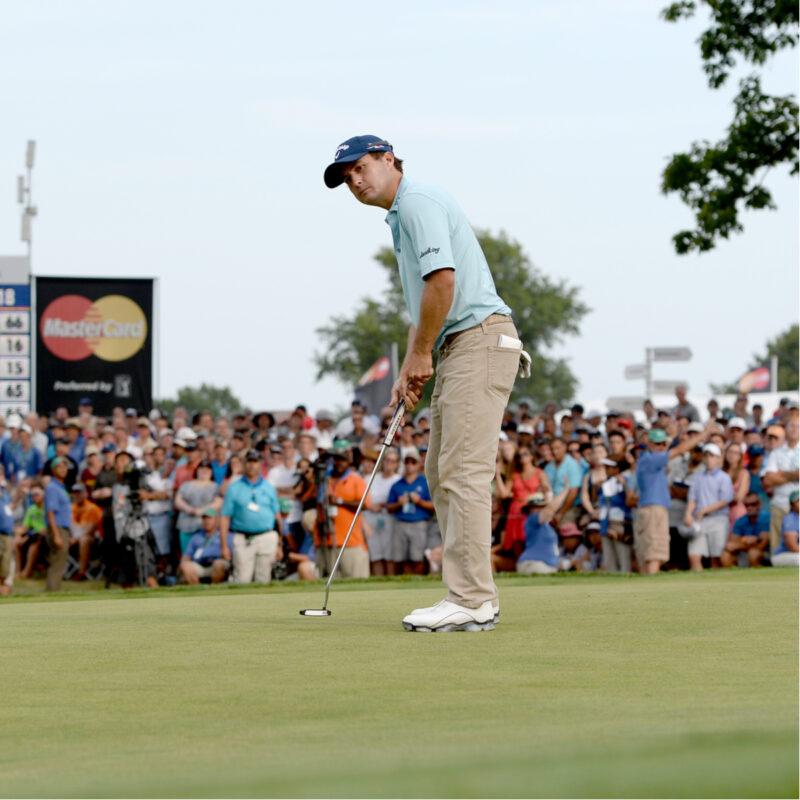 Golfer at The Aiken Golf Club in South Carolina.