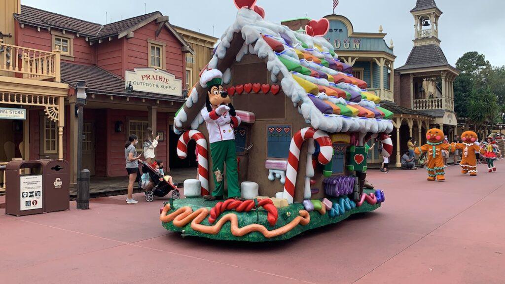 Goofy's Scrumptious Cavalcade at Magic Kingdom.