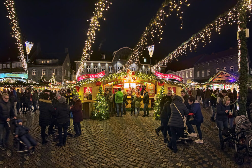 Goslar Christmas Market in Goslar, Germany,