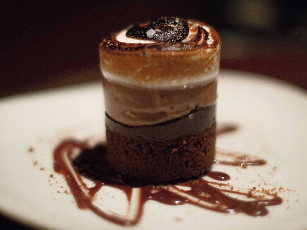 Gourmet s'mores from Butcher And The Boar.
