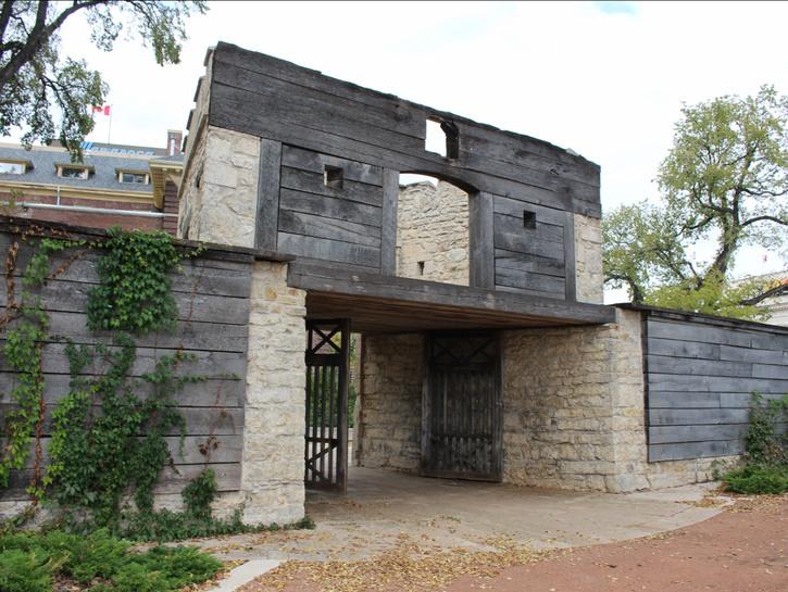 Governor's gate Upper Fort Garry Winnipeg