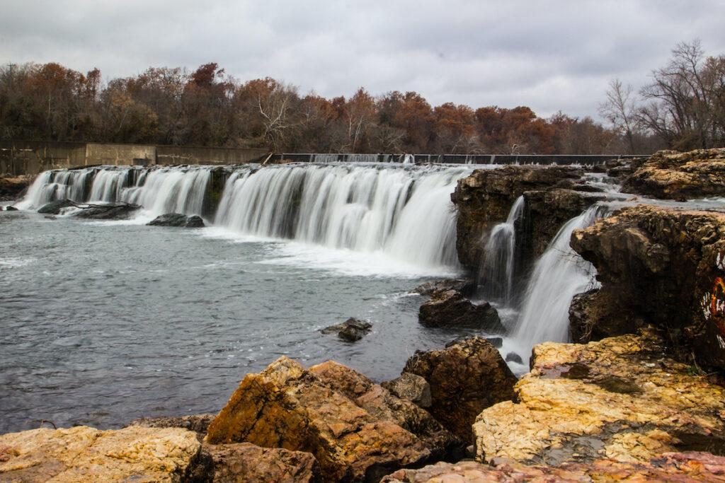 Grand Falls in Joplin, Missouri.