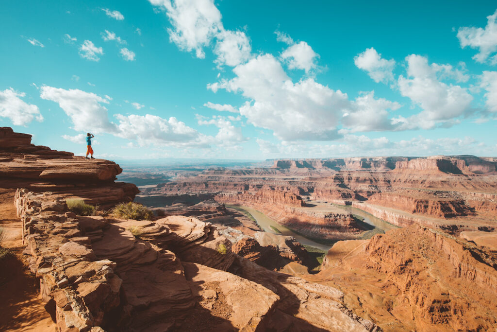 Grand View Point in Utah's Canyonlands National Park.