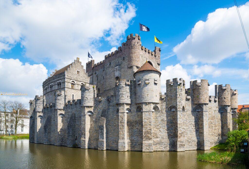 Gravensteen castle in Belgium.