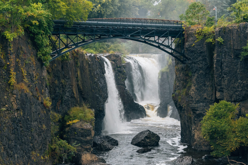 Great Falls in Paterson, New Jersey.