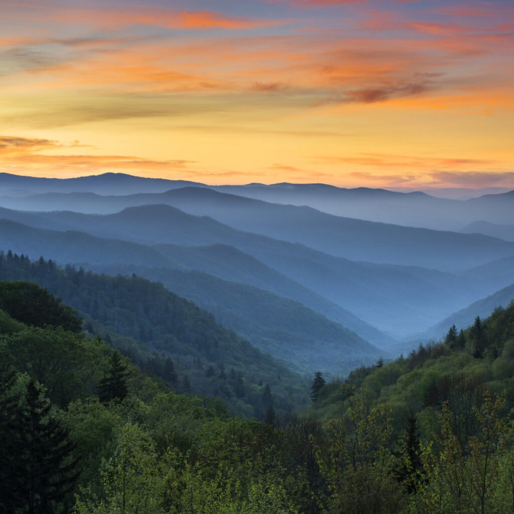 Great Smoky Mountains National Park, Tennessee/North Carolina.