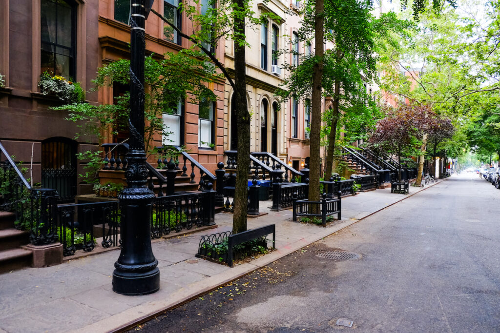 Greenwich Village in New York City.