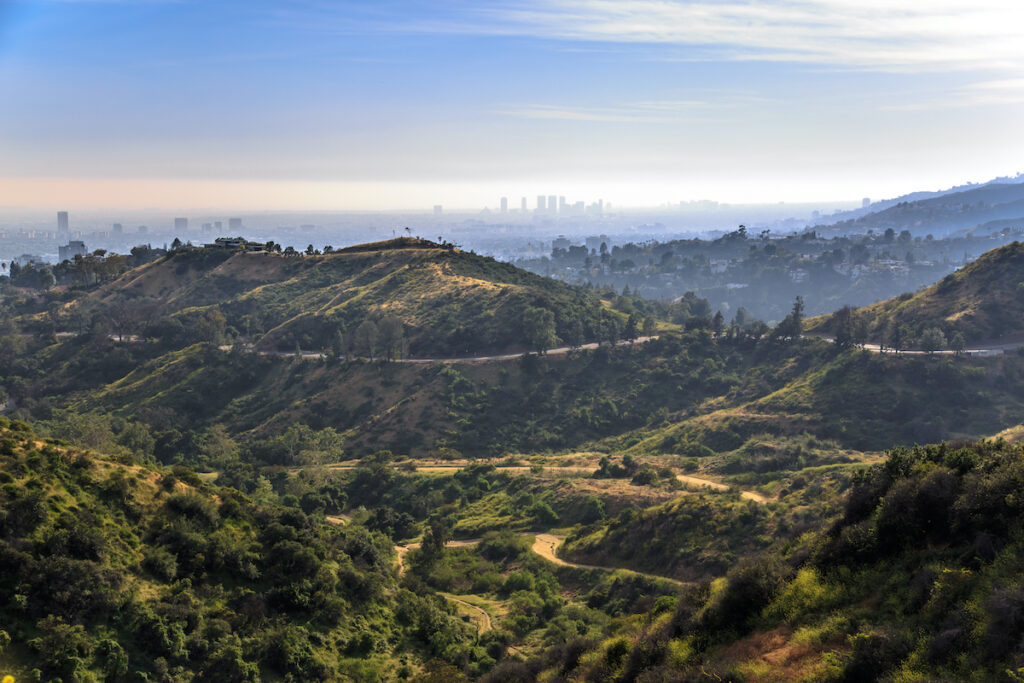 Griffith Park in Los Angeles, California.