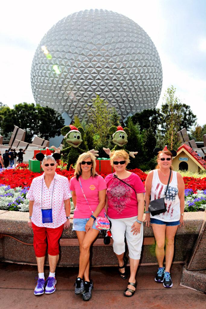 Group photo at Epcot.