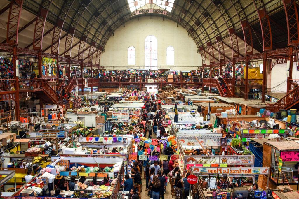 Guanajuato's Mercado Hidalgo.