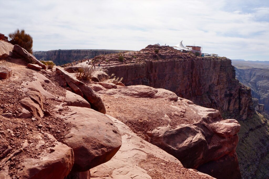 Guano Point at Grand Canyon West.