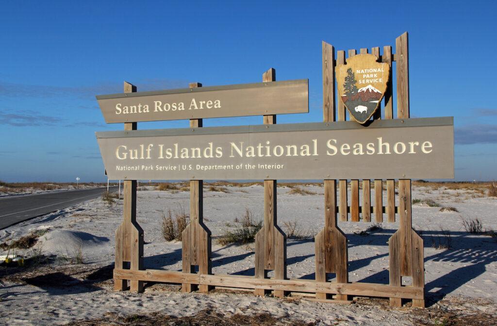 Gulf Islands National Seashore, Santa Rosa Area.