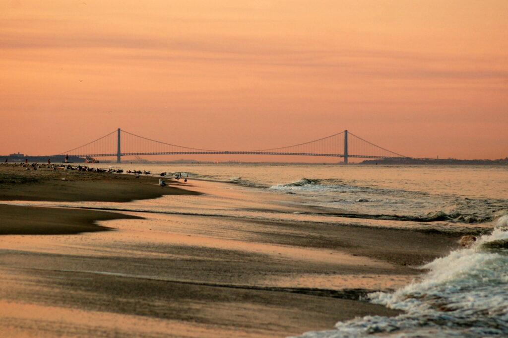 Gunnison Beach in Sandy Hook, New Jersey